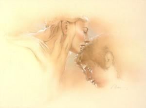 Fairy Queen and Frodo study