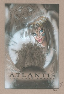 Atlantis original mixed media