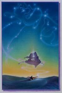 Concept mixed media for Aladdin Sky 3