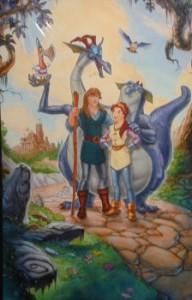 Quest for Camelot original poster art