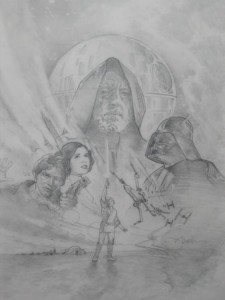 Star Wars: A New Hope International Video Cover Concept