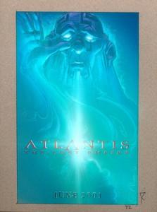 Old Man Atlantis original mixed media
