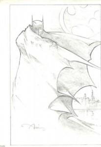 Concept graphite for Batman Returns