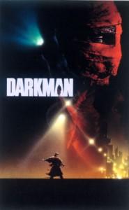 Darkman original mixed media