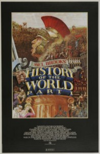 History of the World Part 1 poster