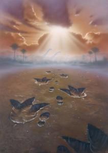 Jurassic Footprints