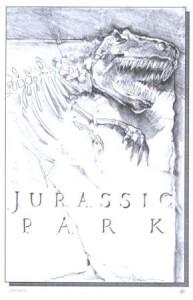 T-Rex graphite concept art