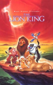 The Lion King poster - international version