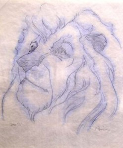 Lion King concept graphite