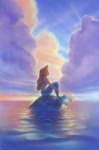 Little Mermaid at dawn