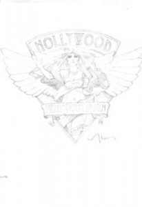 Hollywood Motion Pictures Museum graphite concept
