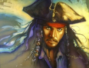 Captain Jack Sparrow LE