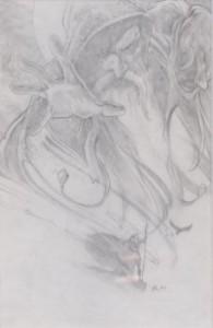 Quest for Camelot graphite concept art