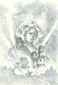 The Return of the Jedi International Video Cover concept'