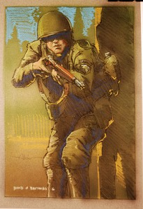 Production Art of Band of Brothers