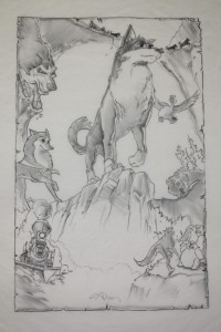 Concept for Poster of Balto