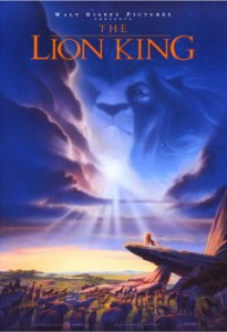 Final Poster of The Lion King
