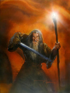 Original Art of The Lord of the Rings