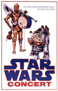 1st Star Wars poster that John Alvin created