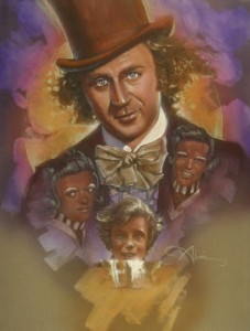 Original Art of Willy Wonka