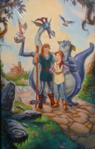 Original Poster Art of Quest for Camelot