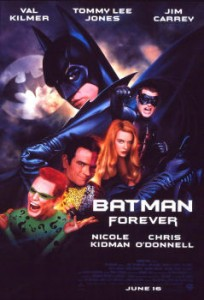 Final Poster of Batman Forever