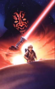 This is the original artwork that was used to create the official poster for the 1st Star Wars Celebration which was held in 1999 in Denver