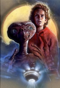 Production Art of ET