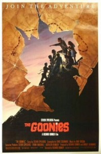 Final Poster of The Goonies