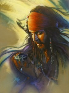 Original Art of Pirates of the Caribbean