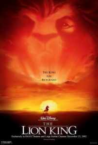 Theatrical Poster of The Lion King
