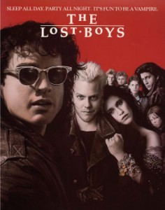 Final Poster of The Lost Boys