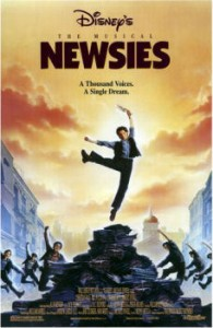Final Poster of Newsies