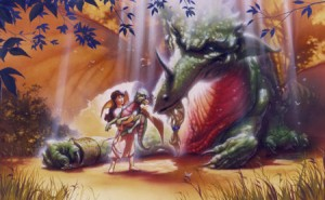 Original Dragon Princess Art