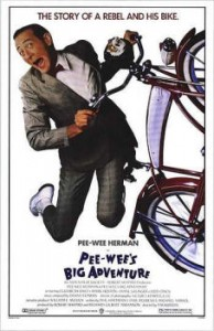 Final Poster of Pee Wee's Big Adventure