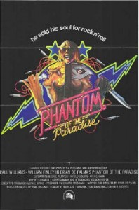 Final Poster of Phantom of the Paradise