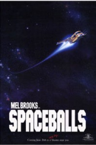 Final Poster of Spaceballs