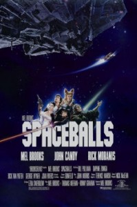 Alternate Poster of Spaceballs