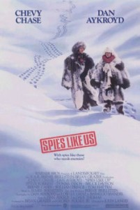 Final Poster of Spies Like Us