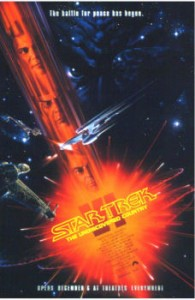 Final Poster of Star Trek VI The Undiscovered Country