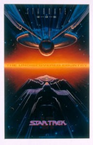 Alternate Poster of Star Trek VI The Undiscovered Country