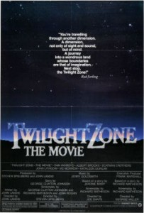 The Final Poster of Twilight Zone The Movie