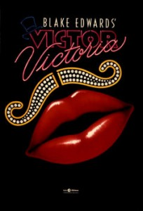 Victor Victoria movie poster finish