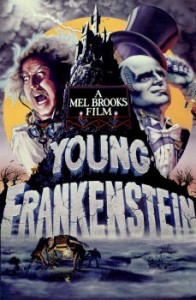 Final Poster of Young Frankenstei