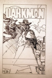 Concept Art of Darkman