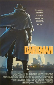 Darkman Cinema Poster