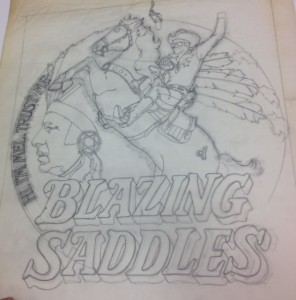 Concept for Blazing Saddles