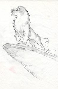 Concept Art for The Lion King