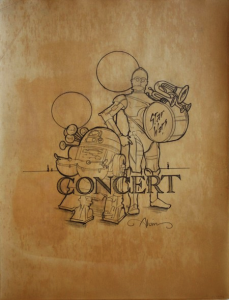 Concept of Star Wars Concert Poster